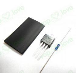 MOSFET IRLB3034+RESISTENCIA