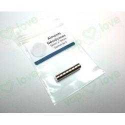 IMAN DE NEODIMIO 5mm x 3mm (BOLSA 8 und.)