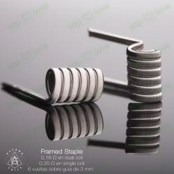 RESISTENCIA ASPANO FRAMED STAPLE 0.35/0.18
