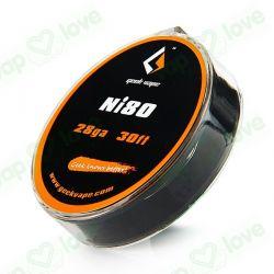 10m GeekVape Ni80 28GA (0.32mm)