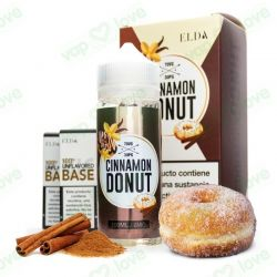 CINNAMON DONUT 3MG PACK 120ML - ELDA