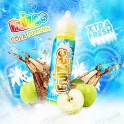 50ML FRUIZEE COLA MANZANA 0MG