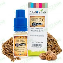 10ml. Nutacco Salted Mist 18mg - Atmos Lab